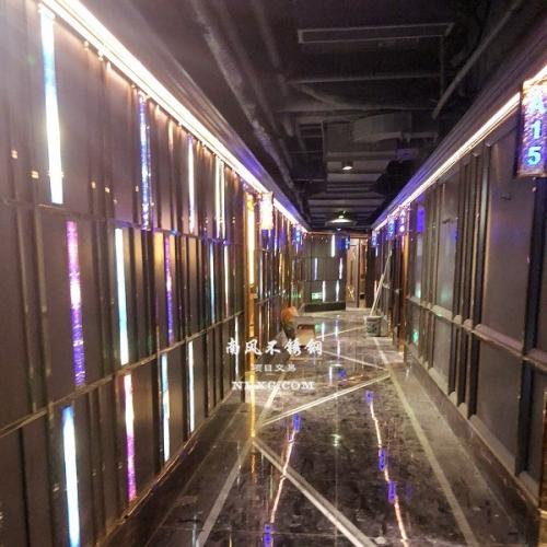 KTV酒吧不锈钢工程设计开发