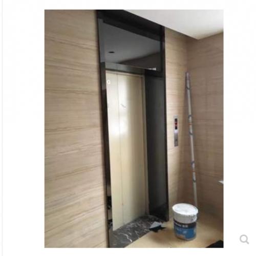 定制 专业定制不锈钢门套 电梯办公室彩色不锈钢门框定做包板装饰工程