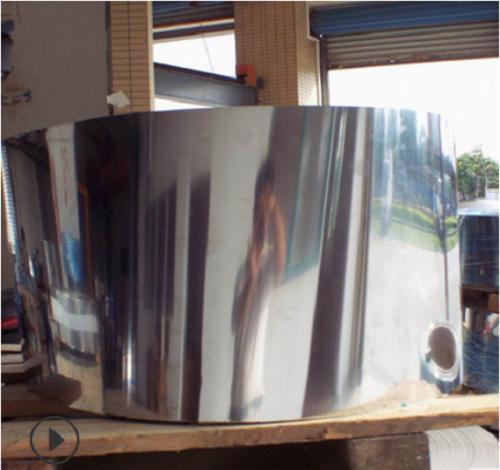 深圳304/316L不锈钢冷热轧板 可拉丝贴膜 镜面8K定尺开平