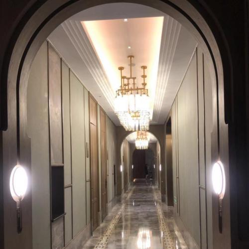高档酒店装修--水晶灯