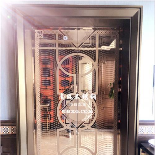 304青古铜木纹钢板/彩色电梯不锈钢/哑光抗指纹