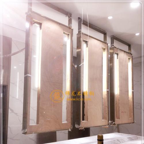 304不锈钢2B板压皮革纹/轨道交通材料/专业不锈钢花纹板加工