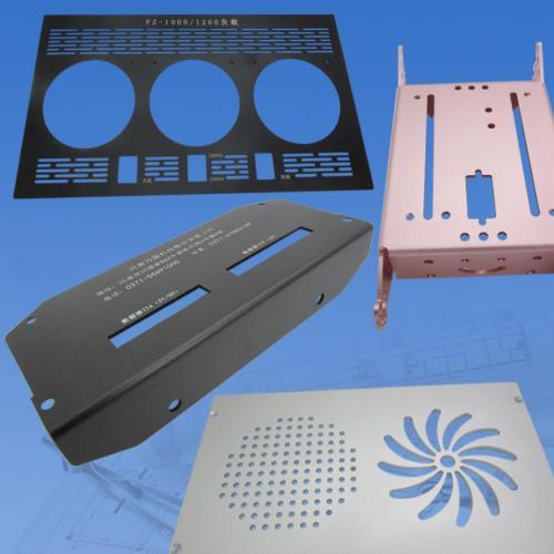 铝板加工定制激光切割铝合金板定做cnc雕刻铝零件折弯钣金5mm机箱