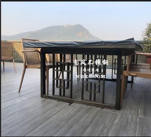 不锈钢定制桌椅