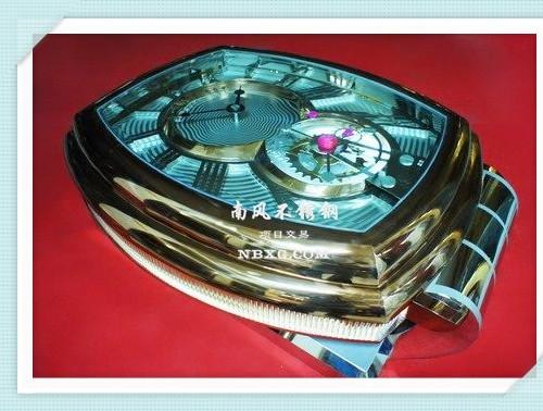 高端定制不锈钢茶几--手表系列